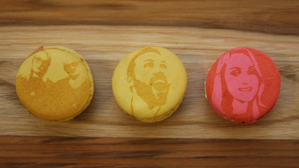 Edible Selfie Photo Booth - Strike a pose. Get live laser-caramelized onto macarons, cookies and cupcakes.SEE MORE