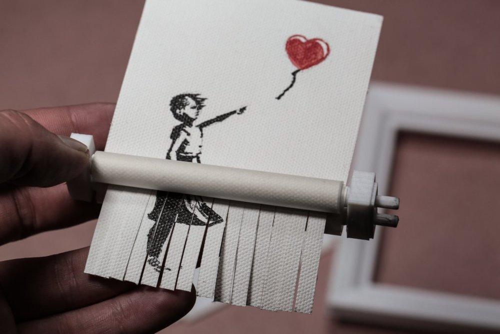 Banksy Art Shredder