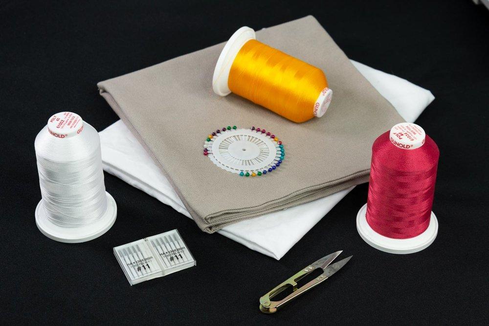 Thread and fabric