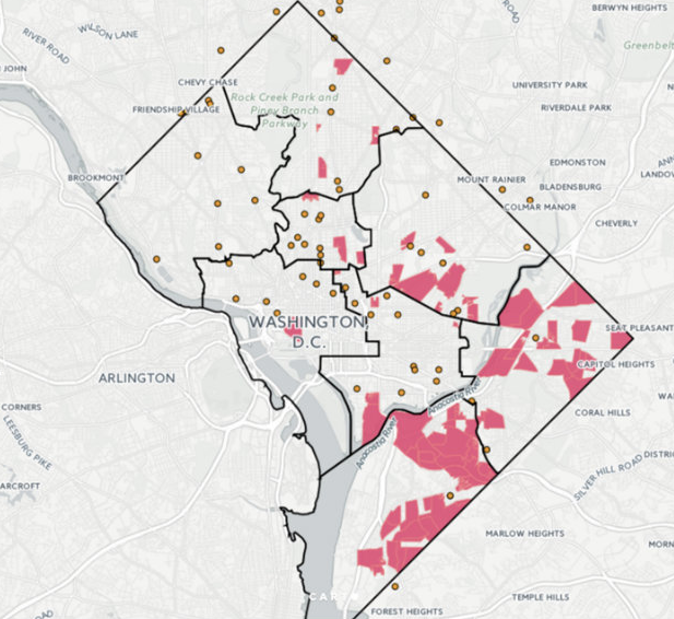 Report: More Than 11 Percent Of D.C. Is A Food Desert, DCist