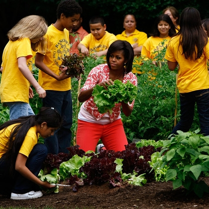 White House Garden Brought Attention. Now, Teacher Says School Gardens Need Support, Civil Eats