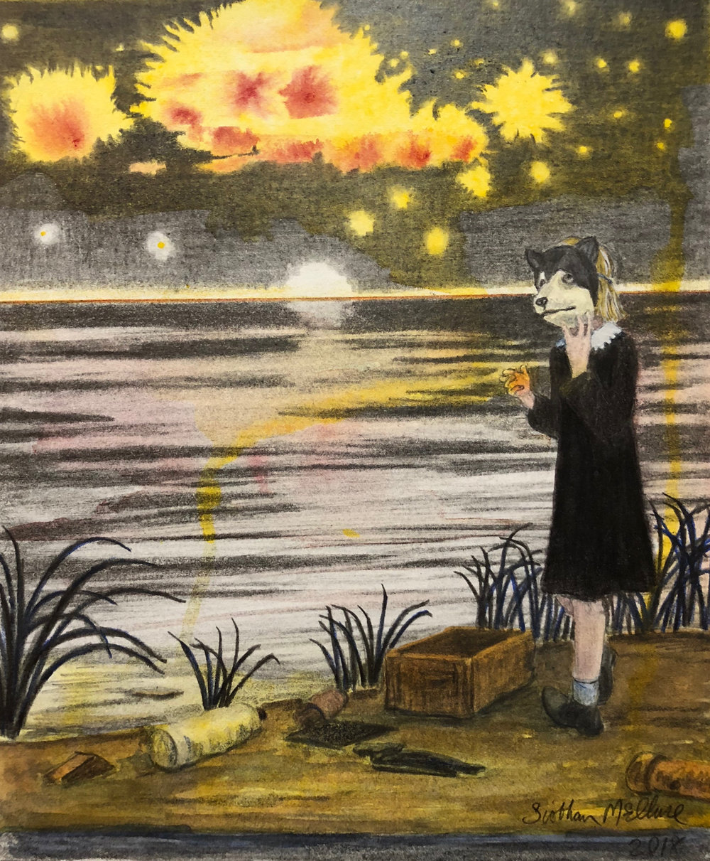 Shy Girl from The Salt Marsh Chronicle, Yellow Salt , 2018