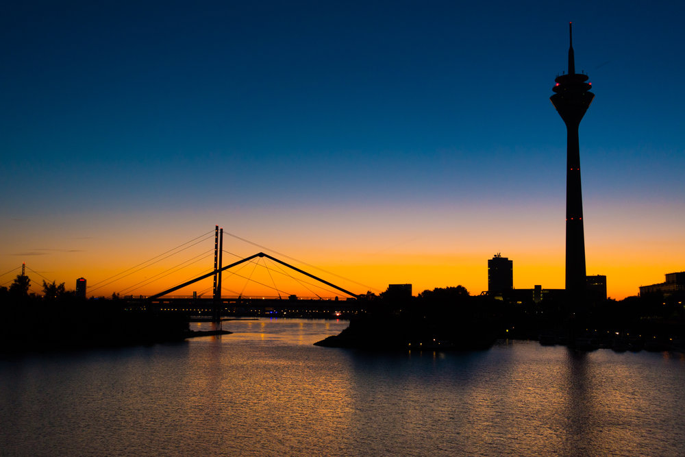 Dusseldorf Harbour Sunrise.jpg