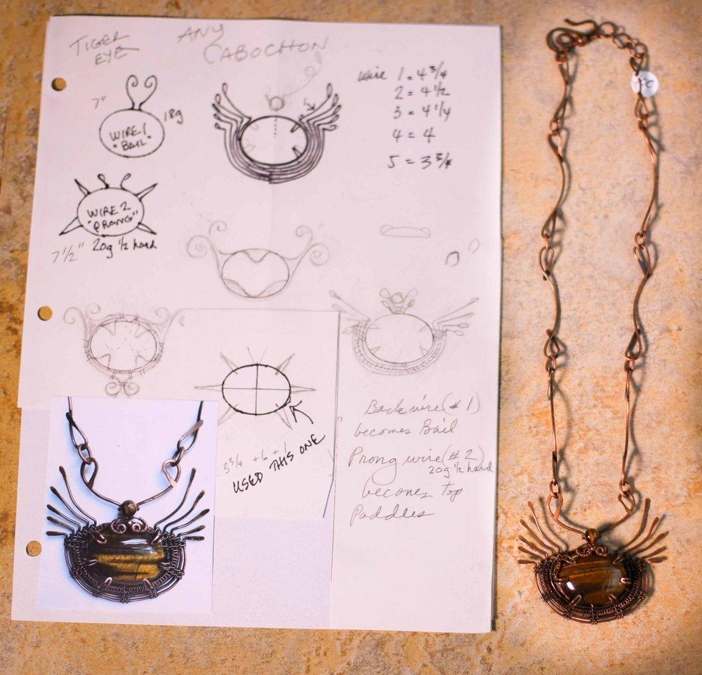 Judy Larsen Gorge Artists Jewlery Craft necklaces pendants wire wrapping custom jewlery art beads pendants charms local artist hood river oregon immense imagery photography websites films digital media_-60.jpg