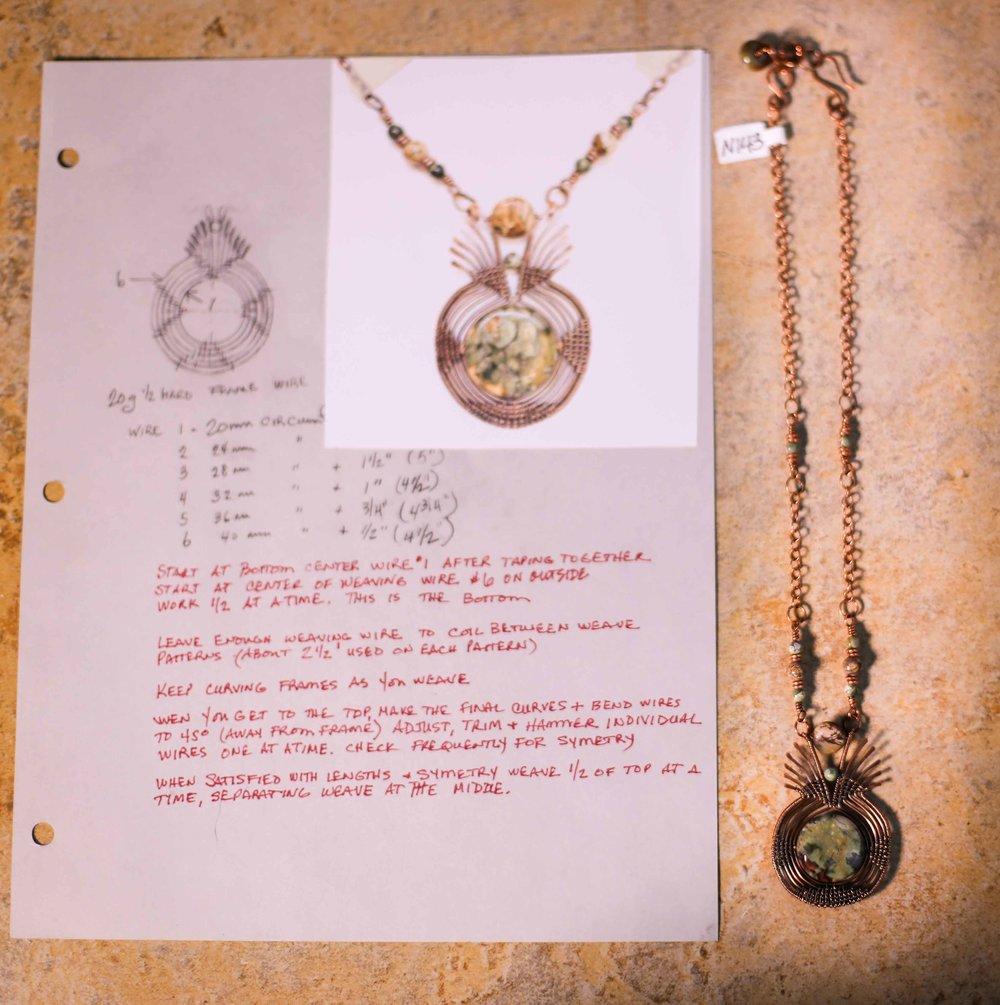 Judy Larsen Gorge Artists Jewlery Craft necklaces pendants wire wrapping custom jewlery art beads pendants charms local artist hood river oregon immense imagery photography websites films digital media_-62.jpg