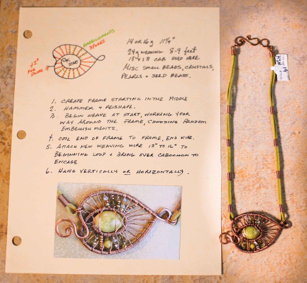 Judy Larsen Gorge Artists Jewlery Craft necklaces pendants wire wrapping custom jewlery art beads pendants charms local artist hood river oregon immense imagery photography websites films digital media_-63.jpg