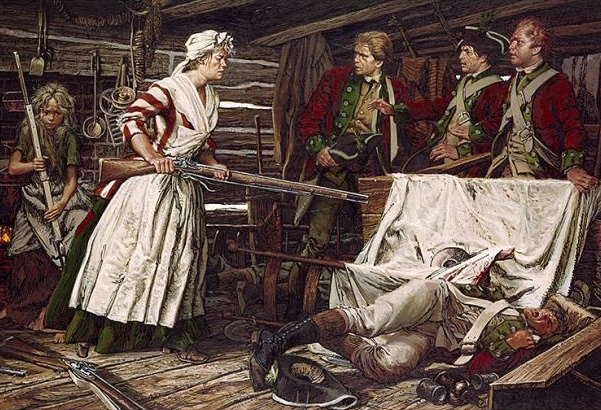 Too Good to Not Repeat - Stories of Nancy Hart's antics abound, placing her at several monumental events during the war such as the Battle of Kettle creek and in situations that always ended with her cleverly injuring and capturing one or more Tory soldiers. While few of these stories boast any amount of proof, some are repeated more frequently than others. One such reoccurring story recalls Nancy's abilities as a spy.