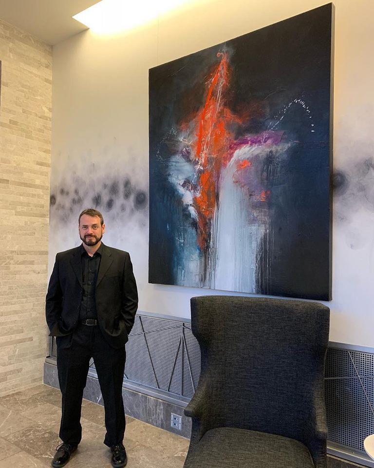 David Senecal at the Hilton Columbus Downtown