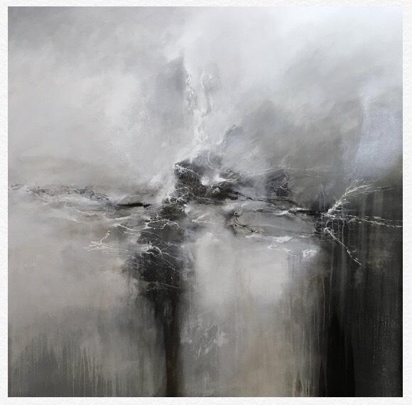 David Senecal, large-scale abstract
