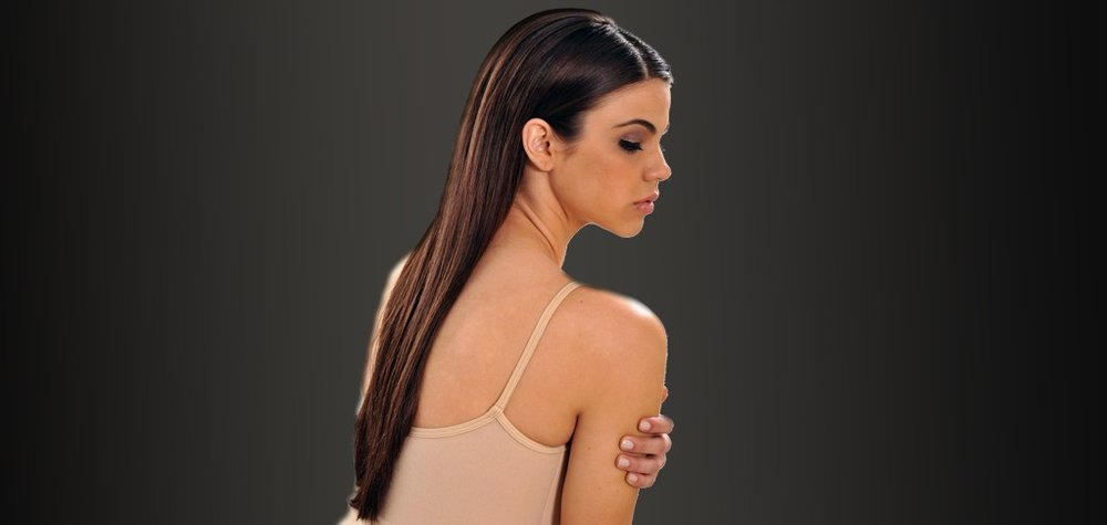 Keratin Hair Treatment - A revolutionary process that softens, shines, straightens and makes the hair healthy. It penetrates the hair, repairing internal damage and coats the hair, preventing further damage. The results are smooth, silky and straight hair. It is not a chemical that restructures the hair. It is a replenishing treatment that reconditions and protects the hair from water and heat damage while enhancing its natural shine. We offer an array of brands including Keratin Complex Smoothing Therapy, Uberliss Keratin Treatment, and KeraGreen Keratin Smoothing System, each catering to different hair types.