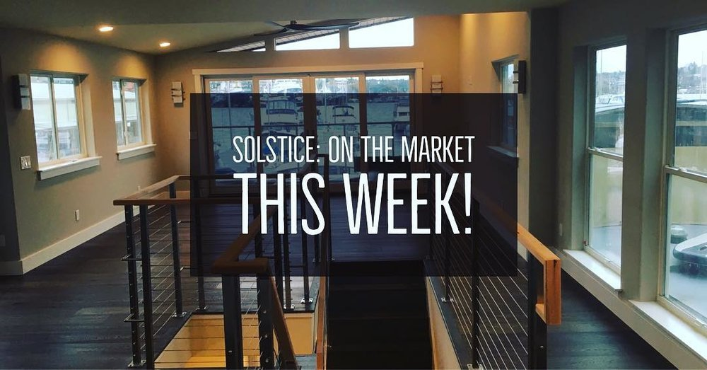 Solstice is on the market!  - We finally have finished!!... well almost, but the big news is that we put Solstice on the market this week.  Check out the MLS listing here:LISTING