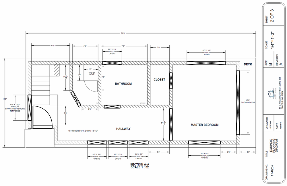 Equinox First Floor Plan