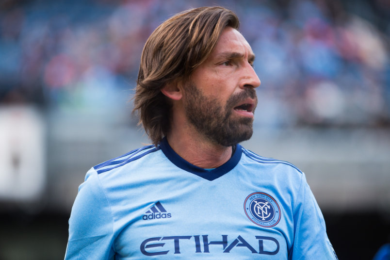 Designated Player Andrea Pirlo at NYCFC.