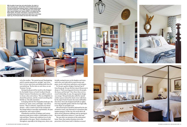 New England Home — CAMERON STEWART