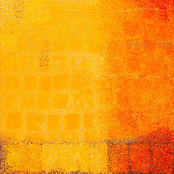 """COLOR STUDY 1 ... acrylic on canvas 18""""x18"""""""