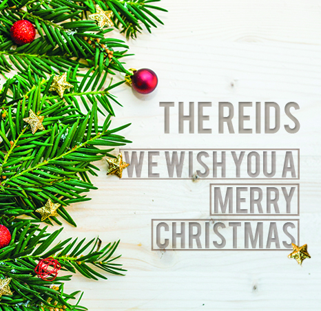 We Wish You A Merry Christmas Hard Copy Reid Me Productions