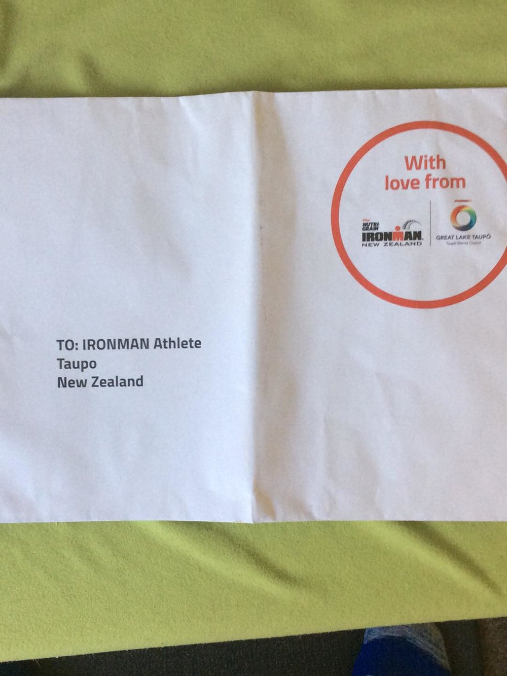 Envelope from Race