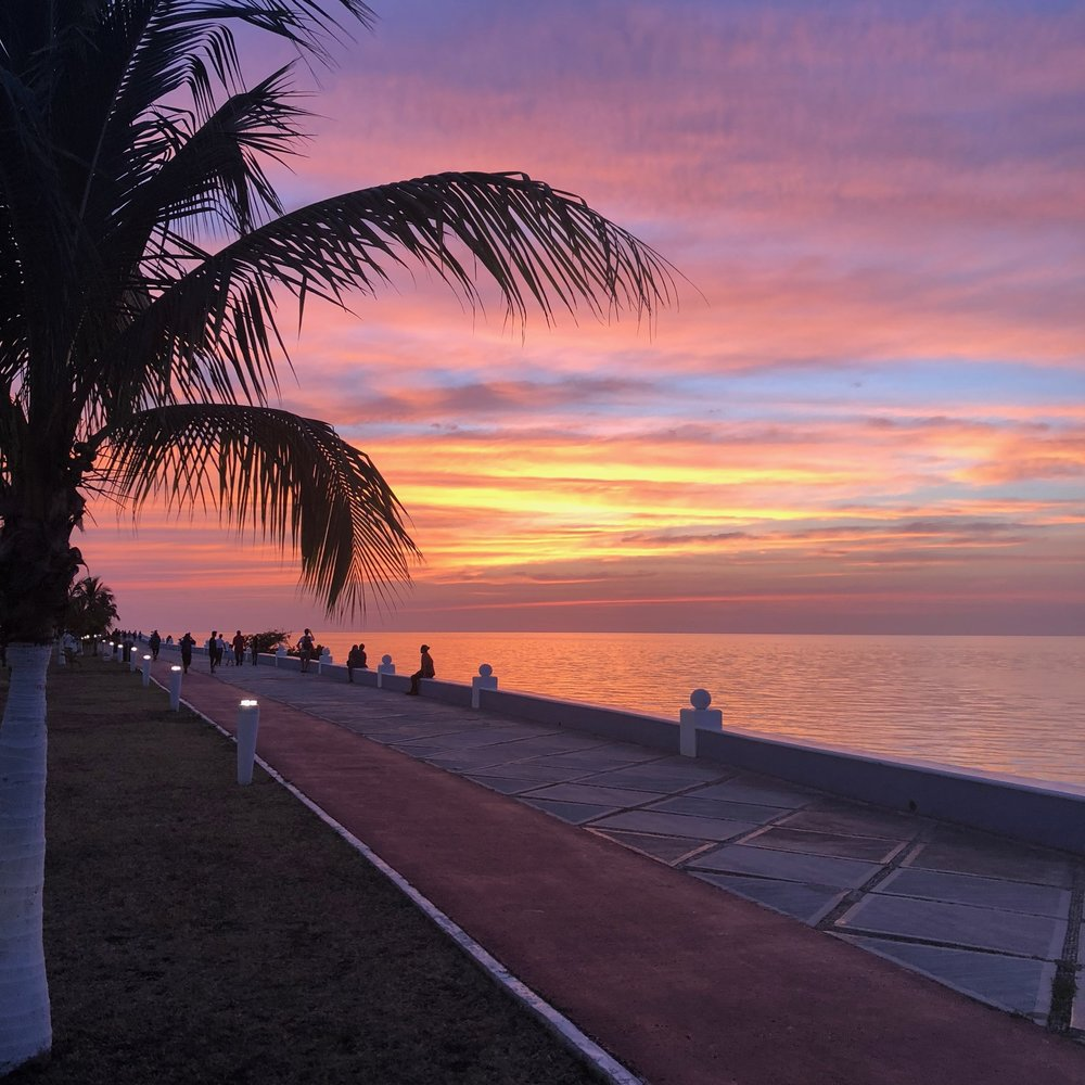 Final Sunset in Mexico.
