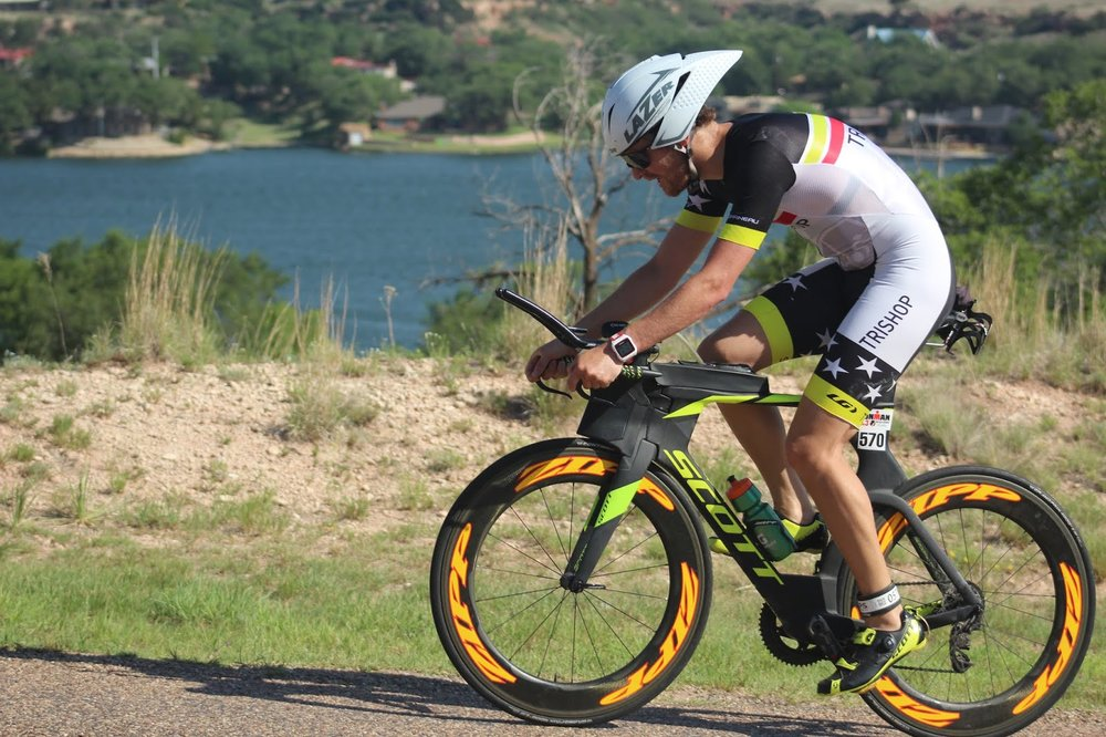 Coach_Terry_Wilson_Pursuit_of_The_Perfect_Race_IRONMAN_Buffalo_Springs_Lake_70.3_Avram_Carter_On_The_Bike.JPG