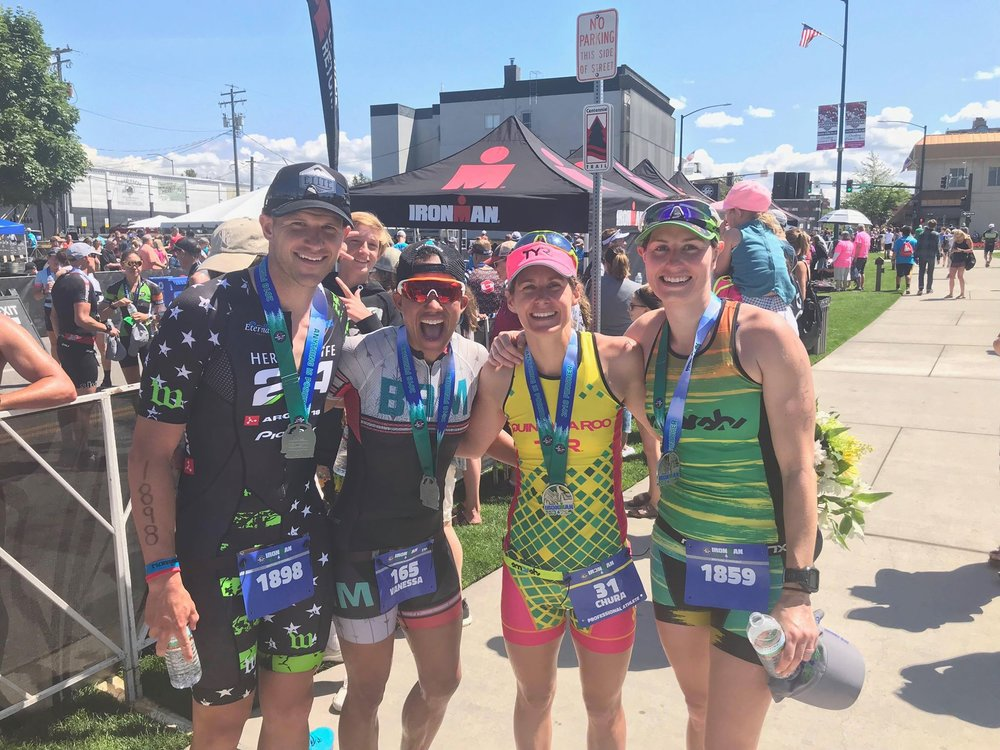 Coach_Terry_Wilson_Pursuit_of_The_Perfect_Race_IRONMAN_Cour_de_Alene_70.3_Overall_Winner_Haley_Chura_Smash_Fest_Queen_Post_Race.jpg