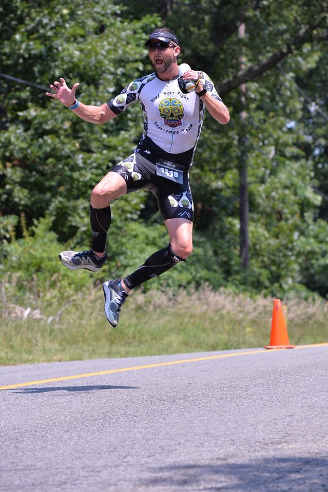 Jumping on the run