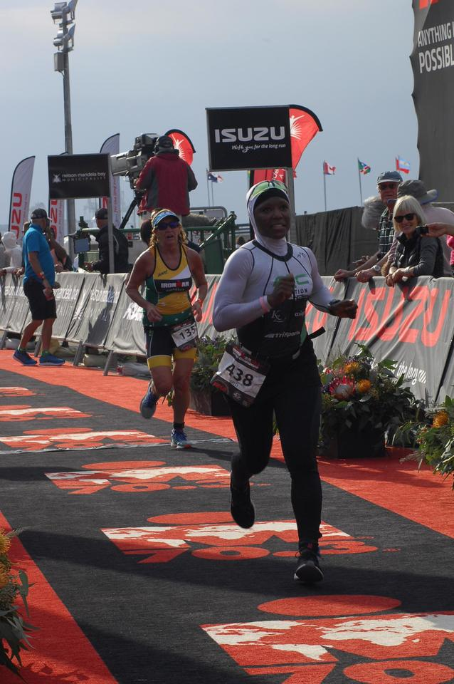Coach_Terry_Wilson_Pursuit_of_The_Perfect_Race_IRONMAN_70.3_World_Championships_Khadijah_Diggs_Finish.JPG