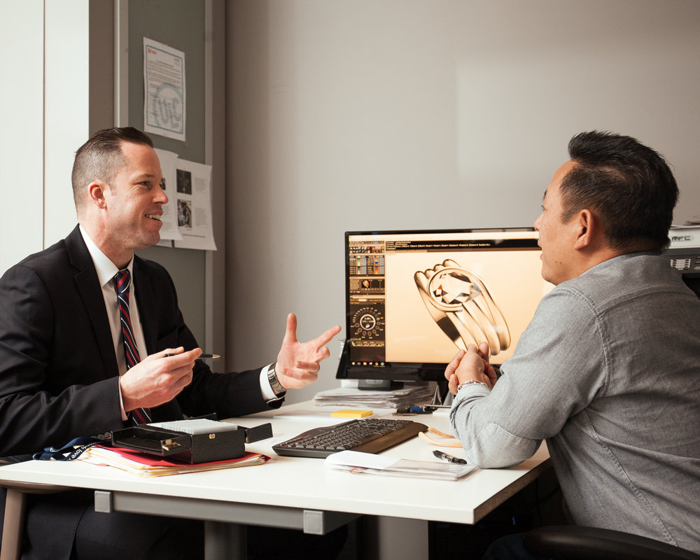 A Network of Experts - We've surrounded our company with exceptional talent, from top goldsmiths to diamond-cutting experts.  We do our best to help you be your best.Request More Information