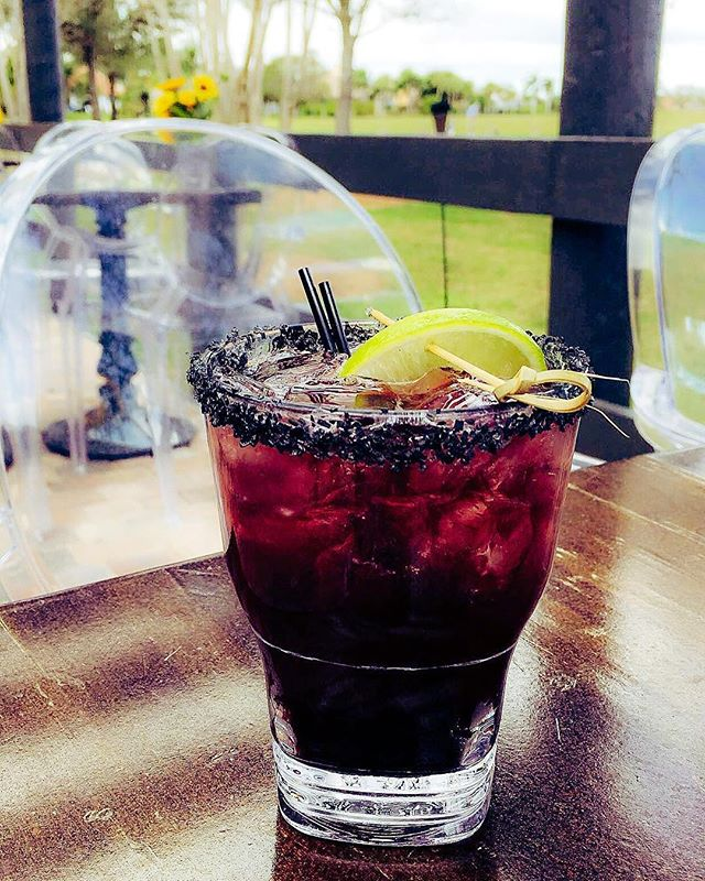 Love this photo of our Back Shot Blackberry Margarita! Remember to come check us out Monday-Friday from 2-6 pm. Do you love $4 wine? $4 Well Drinks? $3 draft beer and $10 domestic buckets? How about our small plate apps for only $5... Yum! Start planning your happy hour! 🍽🍷🍺🍹🍸#happyhour #polobarandgrill  #polo #margarita #its5oclocksomewhere