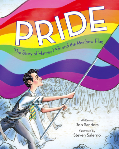 Pride: The Story of Harvey Milk and the Rainbow Flag by Rob Sanders - Un libro para enseñarle a los niños y niñas sobre el ejemplo de Harvey Milk, uno de los mayores activistas LGBTIQ+ de la historia. Disponible aquí.
