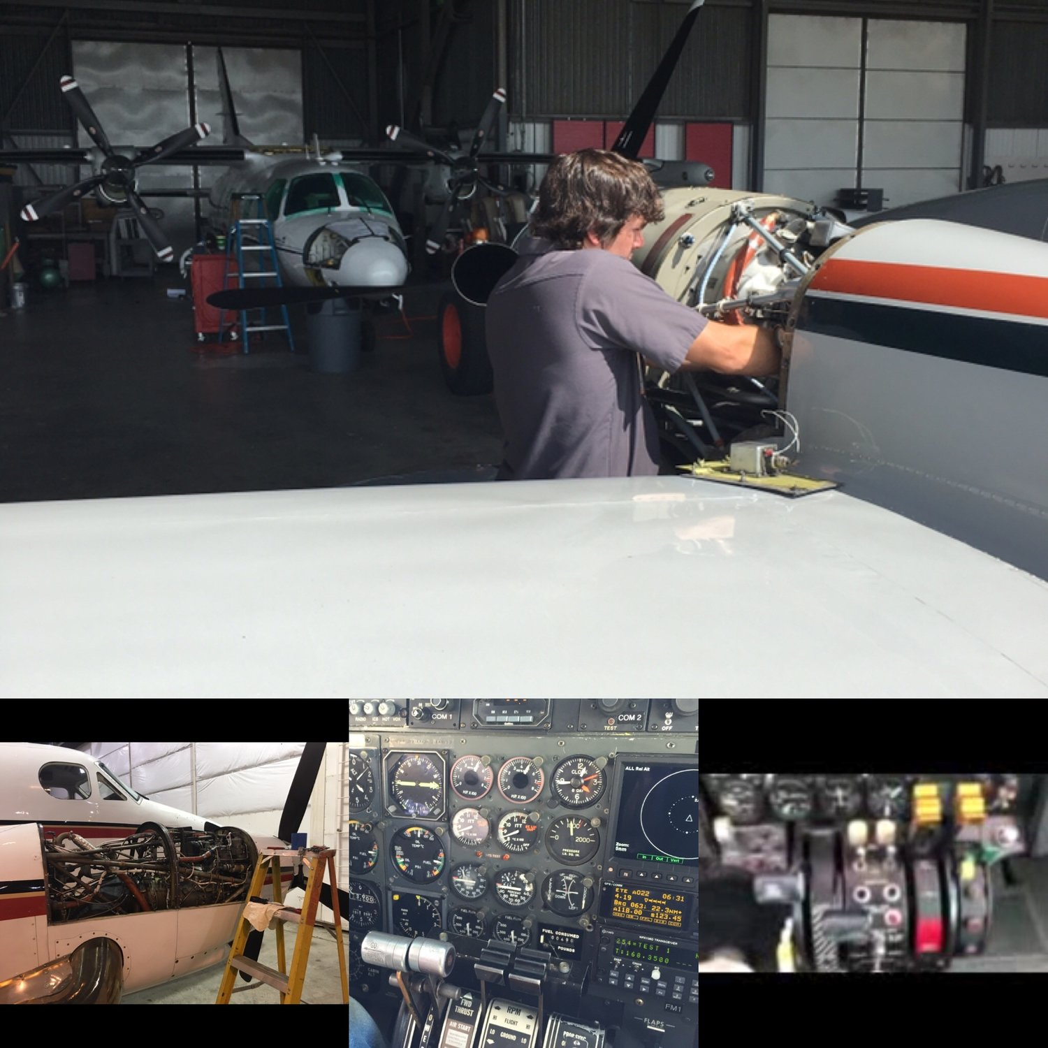 PT6 & TPE331 Engine Rigging - Hancock Enterprises Inc