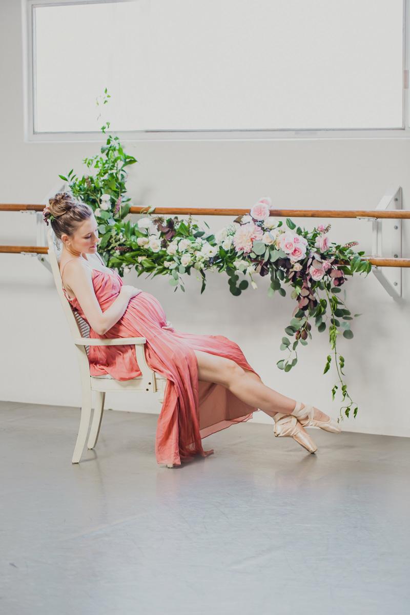 poppyhillflowers.com | Ballerina Maternity Floral Shoot | Poppyhill Flowers | Southern California Wedding Florist and Floral Designer _ (6).jpg