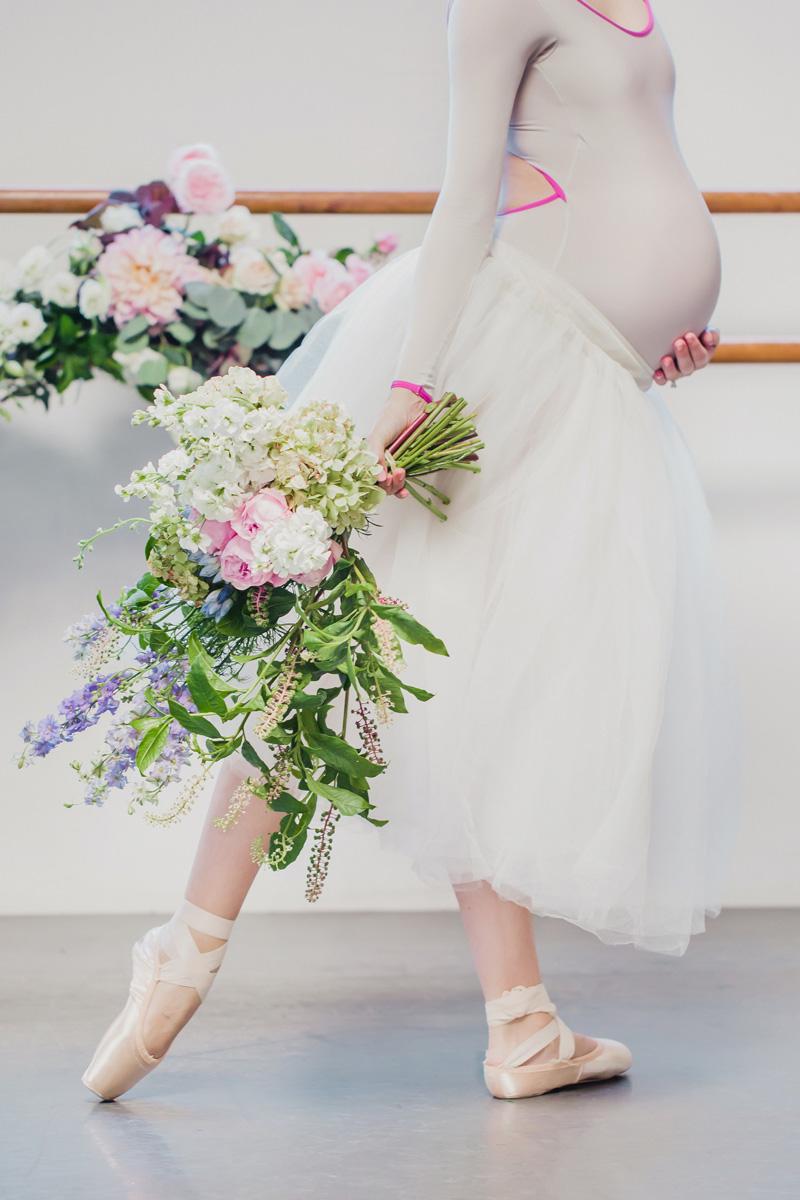 poppyhillflowers.com | Ballerina Maternity Floral Shoot | Poppyhill Flowers | Southern California Wedding Florist and Floral Designer _ (11).jpg