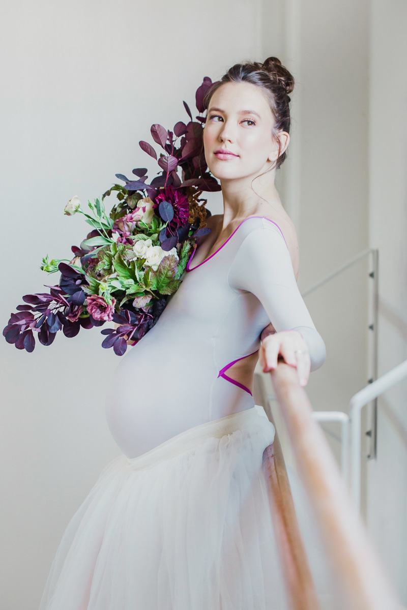 poppyhillflowers.com | Ballerina Maternity Floral Shoot | Poppyhill Flowers | Southern California Wedding Florist and Floral Designer _ (15).jpg