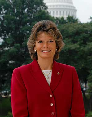 Senator Lisa Murkowski (R) - Alaska - Senator Murkowski joined the Senate in 2002 by appointment from the Governor of Alaska. After winning her first re-election campaign in 2004 she has served 3 terms as the now senior Senator for the state. Mrs. Murkowski's cannabis advocacy comes from a state's rights angle. Her state is one of the 8 that has legalized cannabis for both adult and medical use. She has been one of the rare Republicans to stand up to the Trump administration's DOJ threats to the cannabis industry.