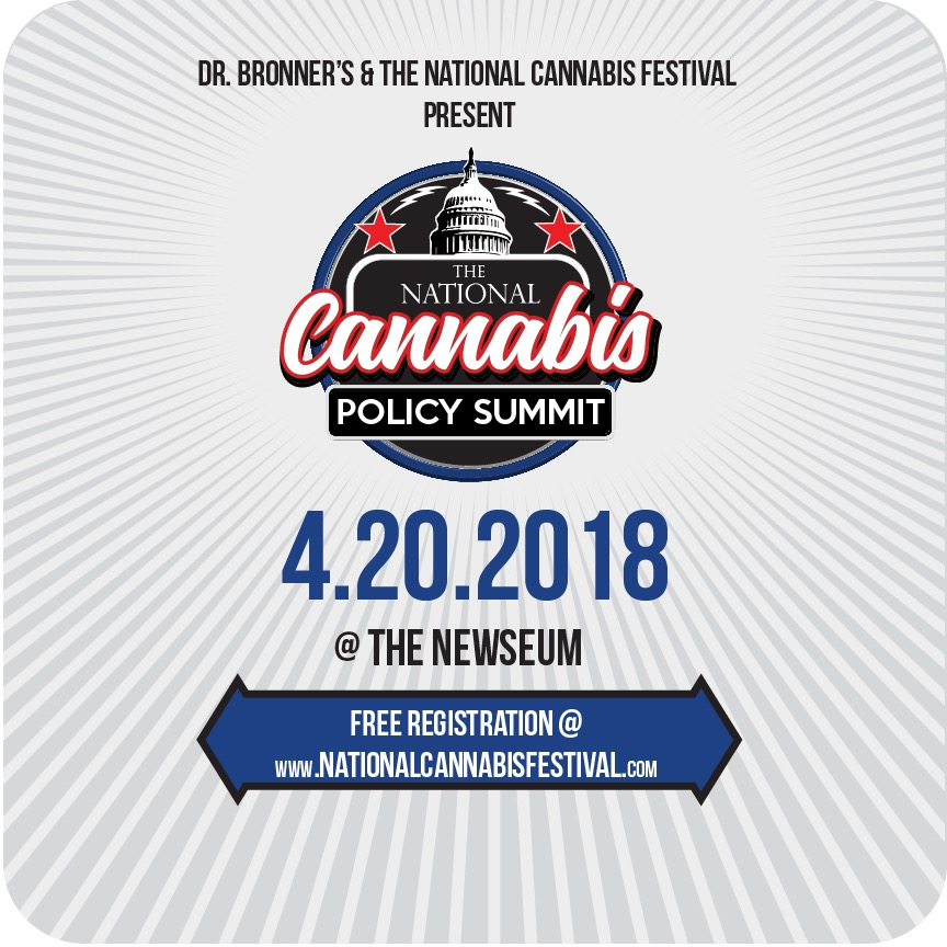 Attend the National Cannabis Policy Summit on 4/20 -