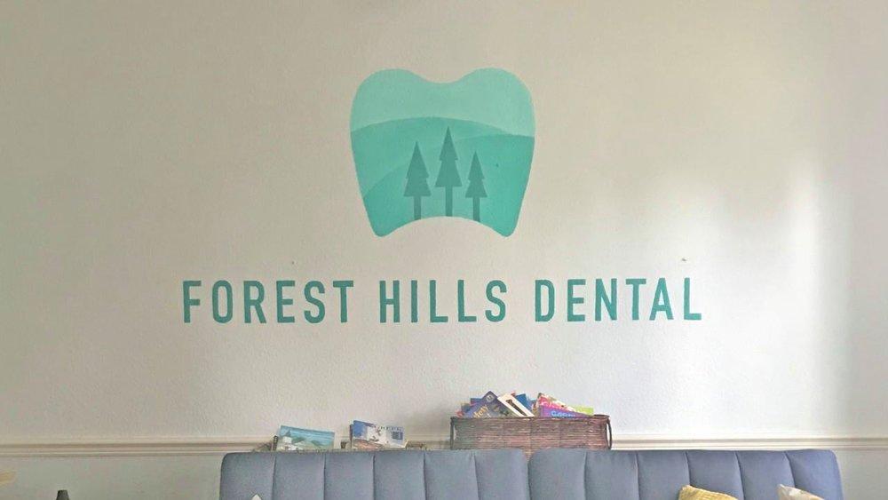 Forest Hills Dental Mural