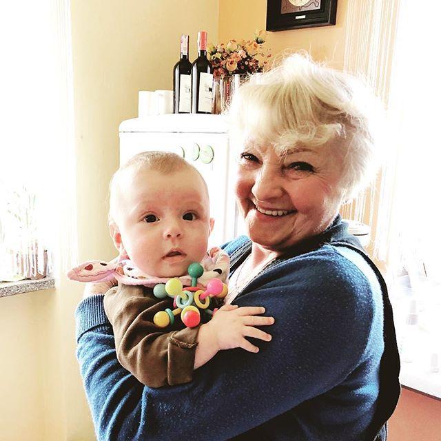 Oona & Babcia!