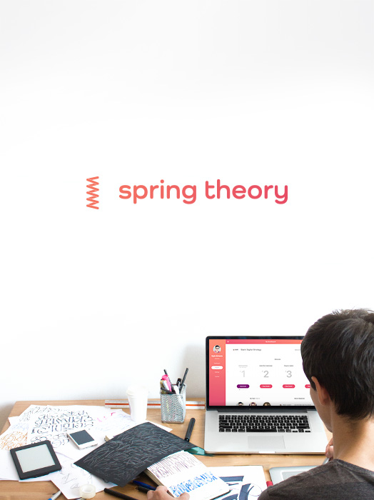 Spring Theory — A Bridge Between Industry & Academia   Branding, Product Design, Marketing