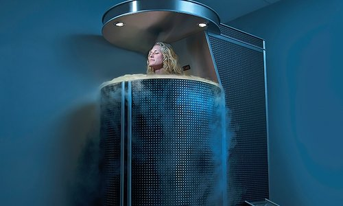 Whole Body Cryotherapy   Cryotherapy increases fat burning and boosts your immune system. It'll also make you release endorphins – your body's feel-good hormone.