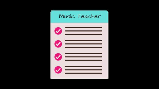 Music Teacher List