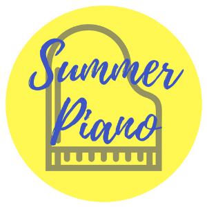 Summer Piano Graphic