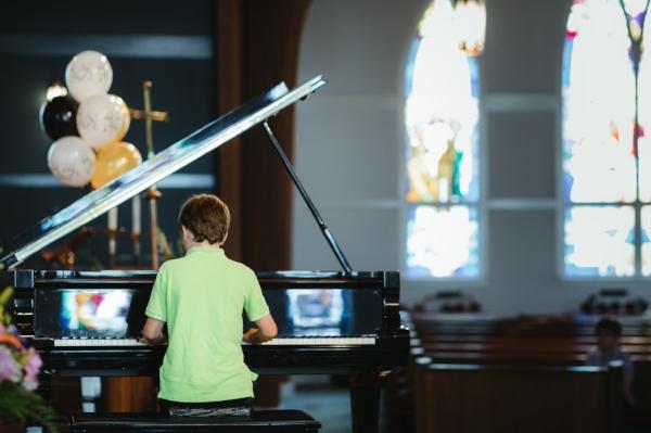 Piano Recital Student