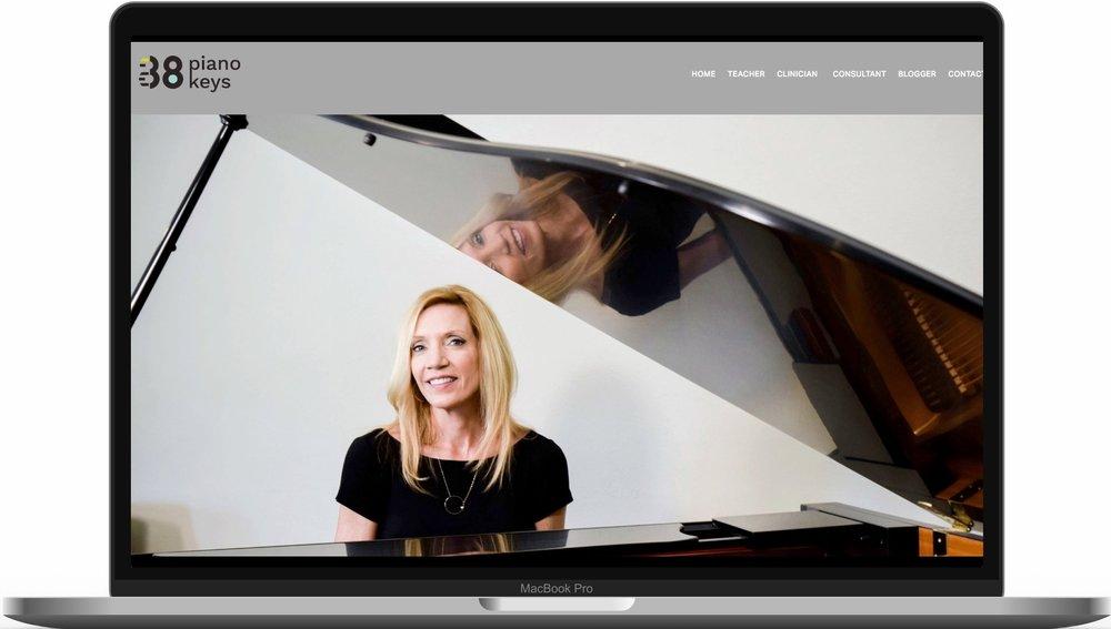 Leila Viss 88 Piano Keys
