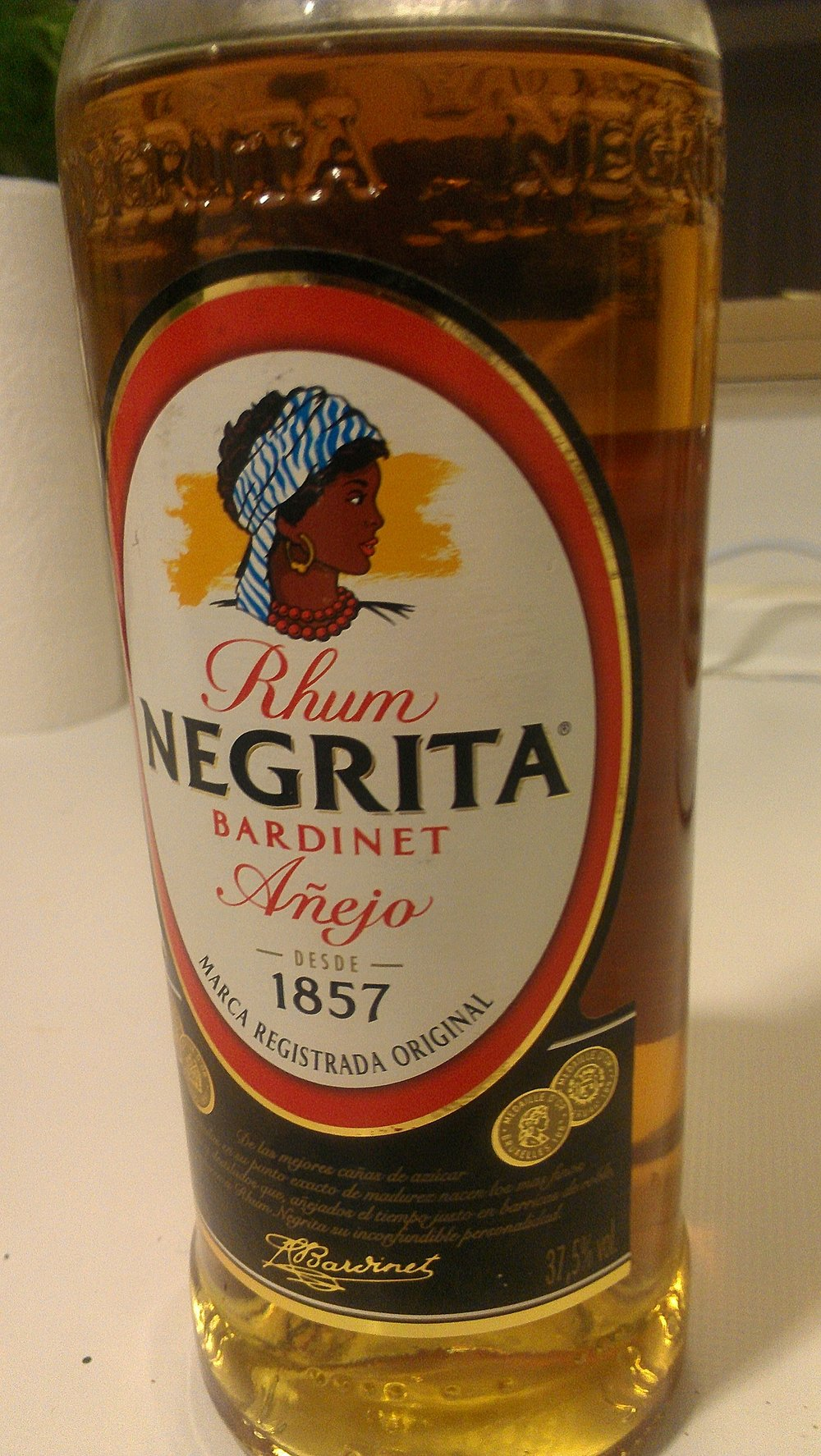 black in spain - image of negrita rum
