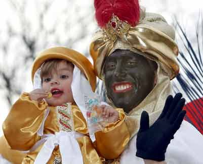 black in spain - blackface reyes magos