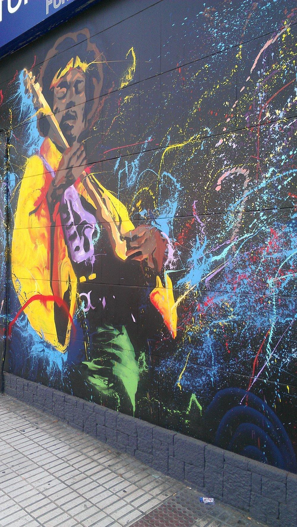 best street art - malaga