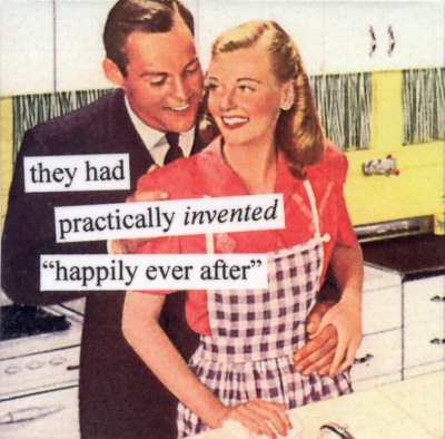being in love - happily ever after