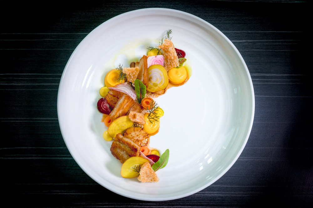 Pork Belly and Scallops, Four Points by Sheraton, Central Park