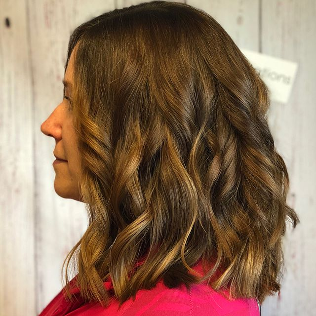 Cut and style by Katie. 👉🏽 swipe to see more ✂️
