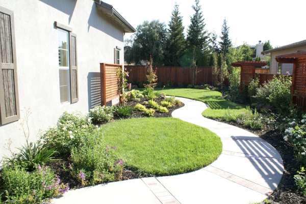 Softscape -- plantings and sod